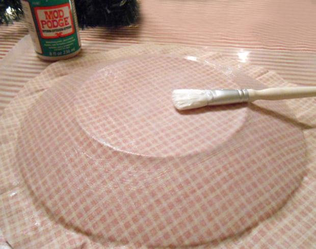 Craft Attitude , Mod Podge Decoupage Plates