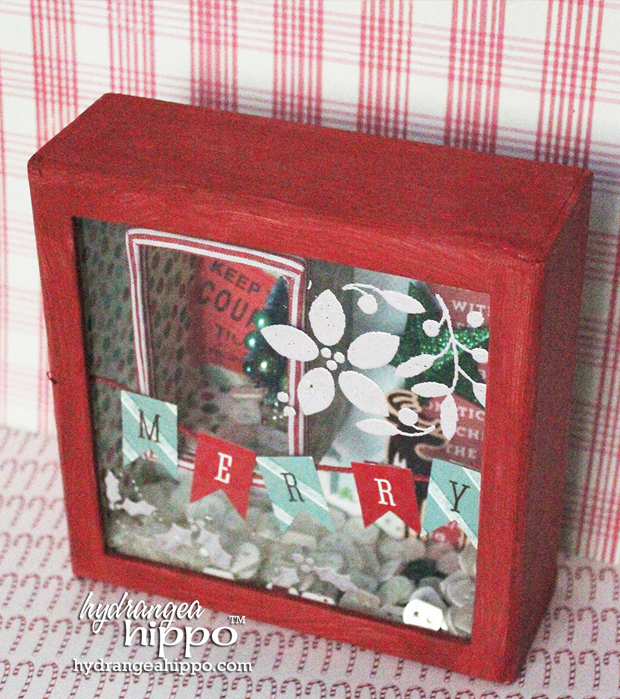 "6 Compartments Idea-Ology Configurations Chipboard Shadow Box Book-6/""X9/"""