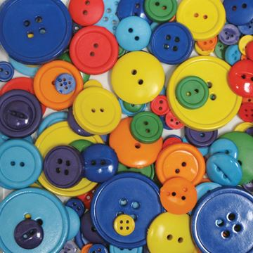 Picture of Favorite Findings Big Bag Of Buttons-Rainbow 3.5oz