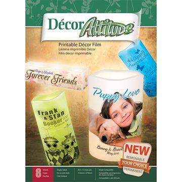 "Picture of Decor Attitude 8.5""X11"" Sheets 8/Pkg"