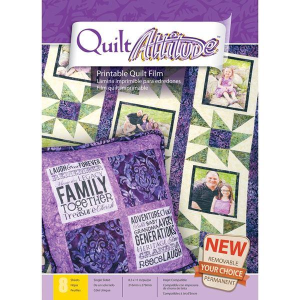 "Picture of Quilt Attitude 8.5""X11"" Sheets 8/Pkg"