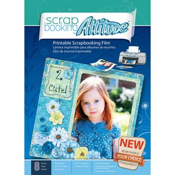 "Picture of Scrapbooking Attitude 8.5""X11"" Sheets 8/Pkg"
