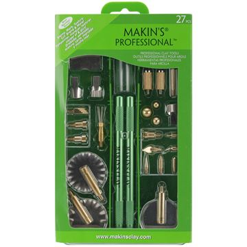 Picture of Makin's Professional Clay Tool Kit-27 Pieces