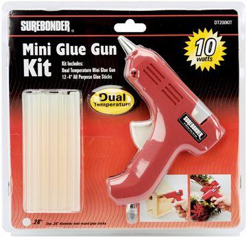 Picture of Dual-Temp Mini Glue Gun Kit-Red