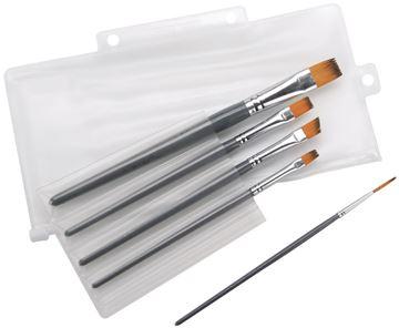 Picture of Paint Brush Set 5/Pkg-