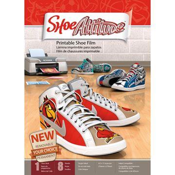 """Picture of Shoe Attitude 8.5""""X11"""" Sheets 8/Pkg"""