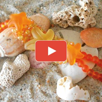 Citrus Starfish Bracelet