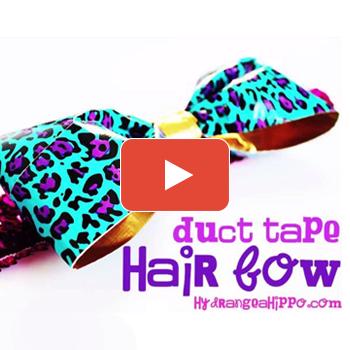 80s-Inspired Giant Hair Bow Headband