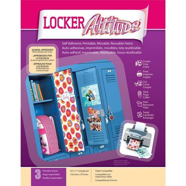 """Picture of Locker Attitude 8.5""""X11"""" Sheets"""